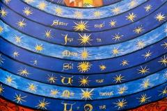 Nicole Oresme, le livre du ciel et du monde, enluminure 15ème siècle - SL, domaine public