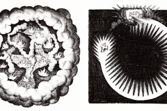 Robert Fudd, Utriusque Cosmi (détails), 1617 - wikimedia commons, domaine public