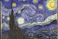 Van Gogh, nuit étoilée, 1889 - wikipedia commons, domaine public