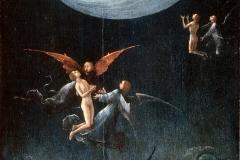 Jérome Bosch, la montée vers l'empyrée, 1504 - wikimedia commons, domaine public