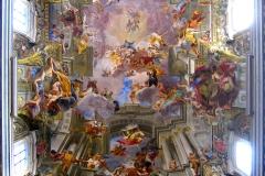 Andrea Pozzo, voute de San Ignazio, 17ème siècle - wikimedia commons, Anthony Majanlahti CC BY 2.0