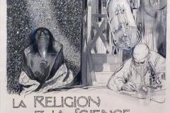 Kupka, dessin, religion-et-science, 20ème siècle - SL, domaine public