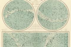 Planisphère céleste, Paul Fouché, 1884 - BNF, domaine public