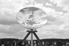 Anish Kapoor, Sky Mirror,Versailles, 2015 - SL
