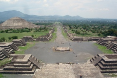 Teotihuacan, 200 av. J.-C. - wikimedia commons, domaine public