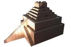 Maquette de la zigurrat de Babylonne, 625-604 av. J.-C. - wikimedia commons- O.Mustafin, CC0