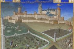 Mars, Les très riches heures du duc de Berry, Frères de Limbourg, 1410-1416- wikimedia commons, domaine public