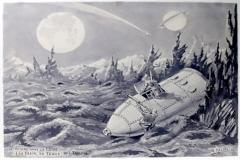 Croquis pour Voyage dans la lune , Georges Meliès - SL