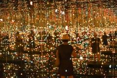 Yayoi Kusama, infinity mirror room 2002, lille3000 - SL