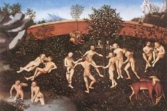 L'âge d'or, Lucas Cranach l'Ancien, 1530 - wikimedia commons, domaine public