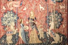 La Dame à la licorne, l'Odorat, vers 1500 - SL