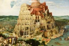 La tour de Babel, Pieter Bruegel l'Ancien, 1563 - wikimédia commons, domaine public