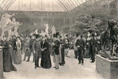 Jour de vernissage au salon 1890 - Jean André Rixens (1846-1925) - wikimedia commons - domaine public