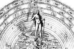 Le miroir de la Nature, détail, Robert Fludd, 1617 - wikimedia commons, domaine public
