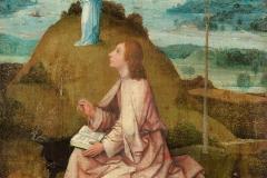 St Jean à Patmos, Jérôme Bosch, 1504-1505 - wikimedia commons, domaine public