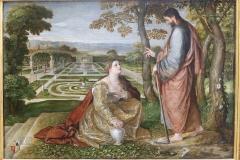 Noli me tangere (Madeleine dans le jardin), Lambert Sustris, 16ème siècle - SL2019