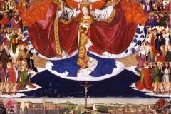 Le couronnement de la Vierge, Enguerrand Quarton, 1454 - wikimedia commons