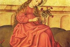 Vierge au jardinet, Maître rhénan anonyme, 1479 - wikimedia commons, domaine public