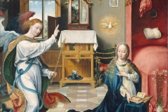L'Annonciation, Joos van Cleeve, 1525 - wikimedia commons, domaine public