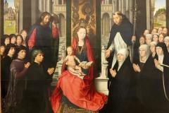 Vierge à l'enfant, Hans Memling, 15ème siècle - wikimedia commons, domaine public