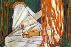 Le rêve, Ferdinand Hodler, 1903 - wikimedia commons, domaine public