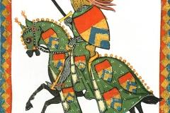 Codex Manesse, 14ème siècle - wikimedia commons, domaine public