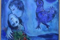 Paysage bleu, Marc Chagall, 1949 - SL2019