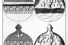 Johann Conrad Barchusen, elementa chemiae, Leyde, 18ème siècle : l'oeuvre par l'eau et le feu.
