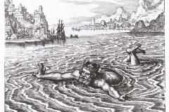 Michael Maier, Atalante fugitive, 17ème siècle : la noyade vieux roi